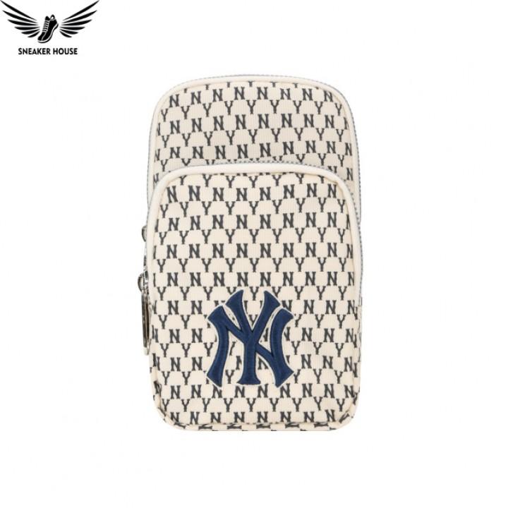 Túi đeo chéo MLB Monogram New York Yankees 32BGDK011-07I