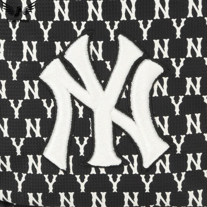 Túi đeo chéo MLB Monogram New York Yankees 32BGDK011-50L