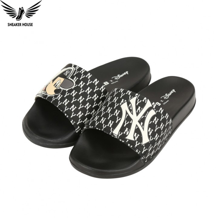 Dép MLB x Disney Mound Mickey slipers New York Yankee 32SHHK011-50L