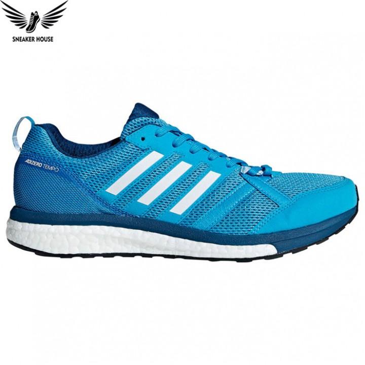 Giày thể thao chạy bộ Adidas adizero tempo 9m Legend Marine-B37422