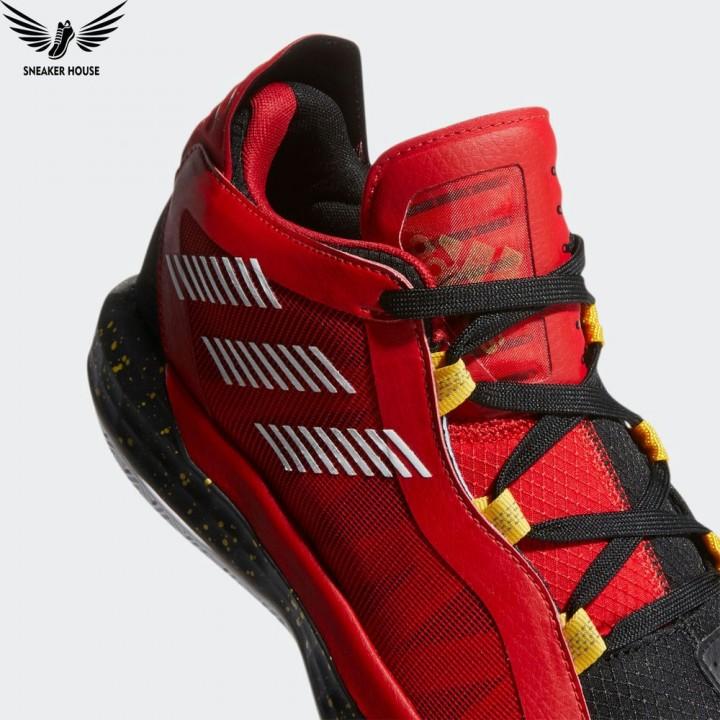 Giày bóng rổ Adidas Dame 6 scarlet  gold metallic EH1994
