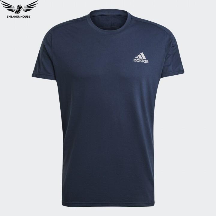 Áo chính hãng Adidas Own The Run Soft Tee Blue GJ9936
