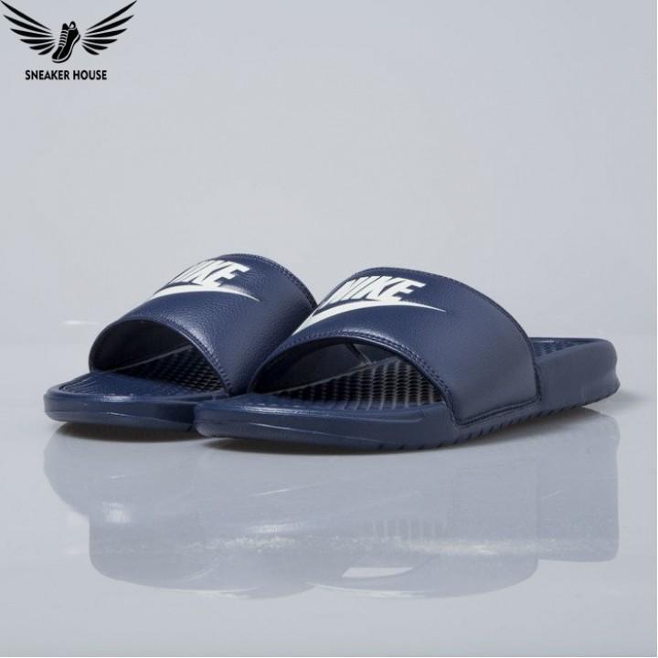 Dép quai ngang Nike Benassi JDI midnight navy 343880-403