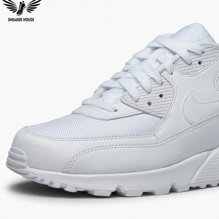 Giày thể thao Nike Air Max 90 Essential Triple White 537384-111