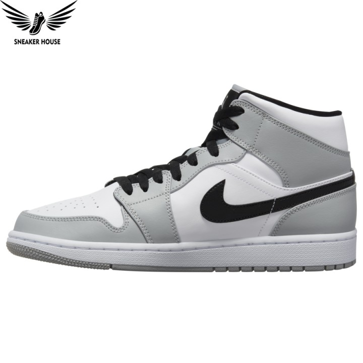 Giày thể thao Nike Air Jordan 1 Mid 'Light Smoke Grey' 554724-092