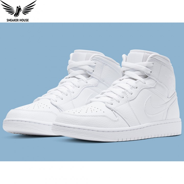 Giày thể thao Nike Air Jordan Triple White 554724-130