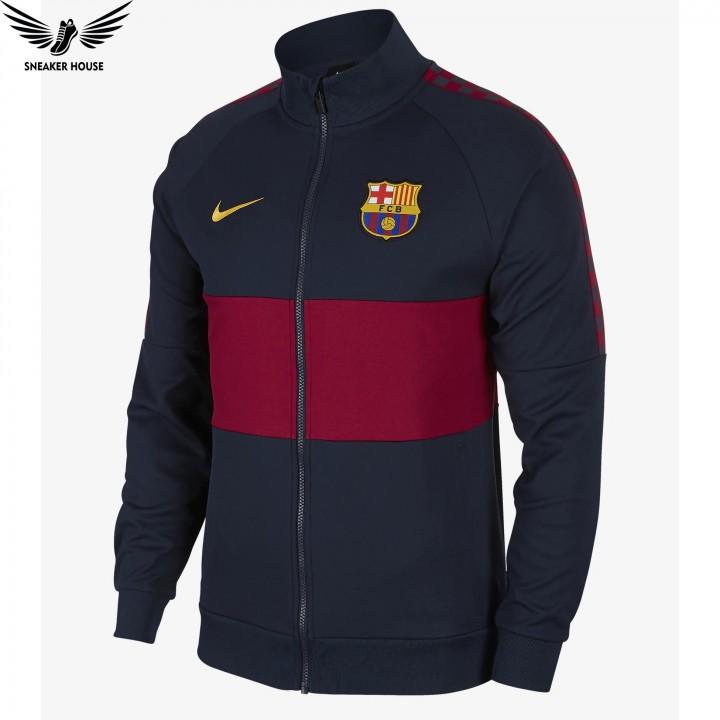 Áo khoác nỉ nam chính hãng Nike FC Barcelona Anthem Jacket AO5445-451