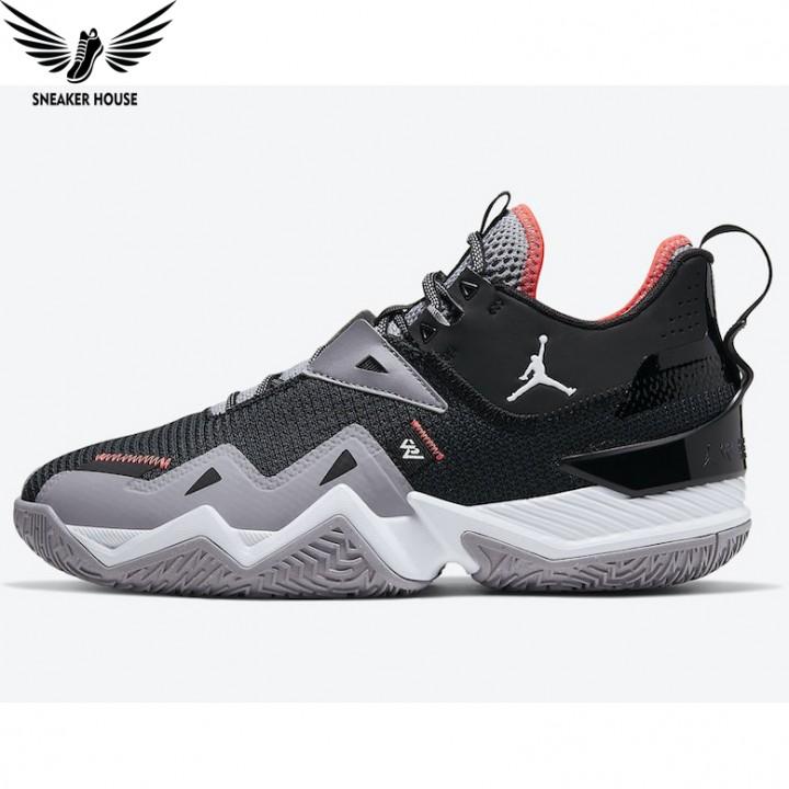 Giày bóng rổ Nike Air Jordan Westbrook One Take Black Cement CJ0780-001