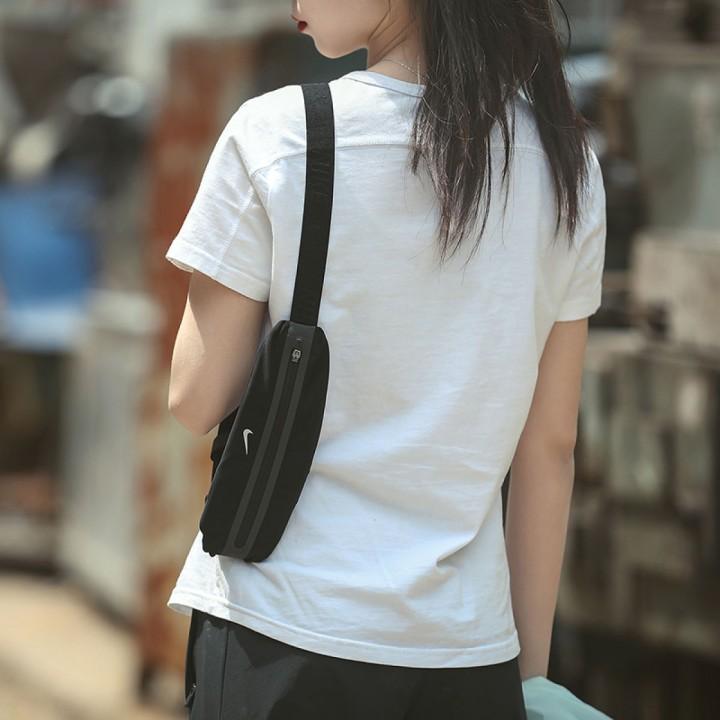 Túi thể thao du lịch ngoài trời túi đeo vai túi chạy bộ chính hãng Nike CV1116-082