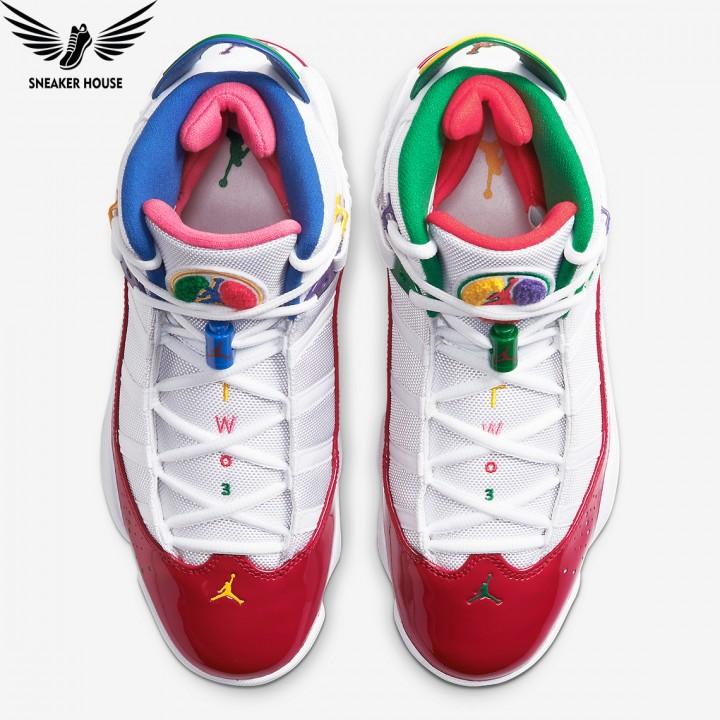 Giày chơi bóng rổ Air Jordan 6 Rings Multi-Color CW7003-100