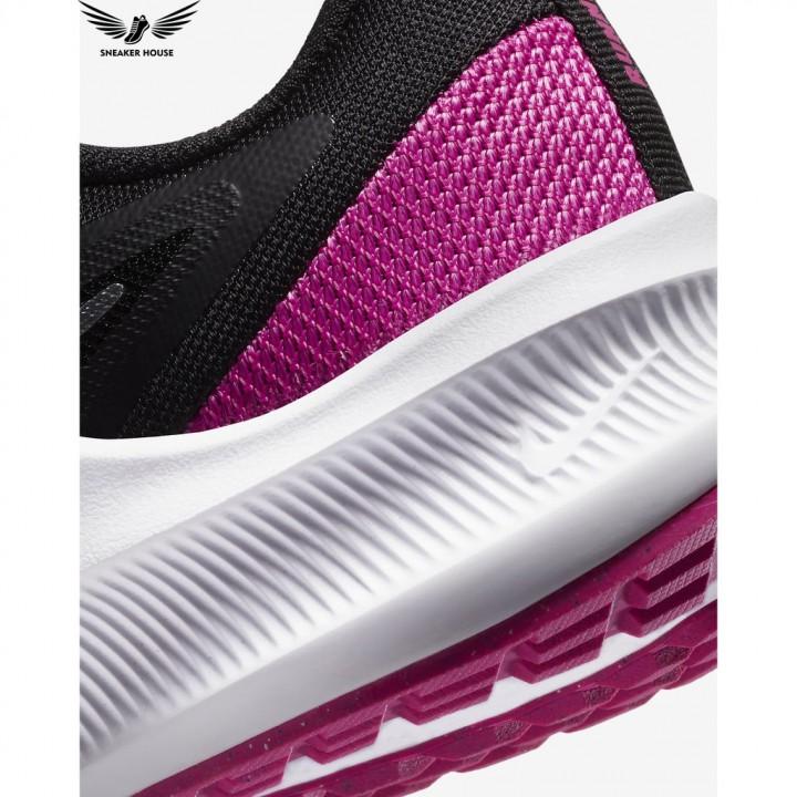 Giày thể thao nữ chính hãng Nike Downshifter 10 black metallic silver-fire pink CI9984-004